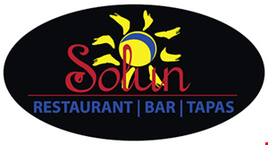 Product image for Solun 20% off take-out