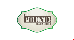 The Pound Bar & Grill logo
