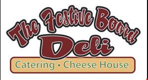 The Festive Board Deli - Catering & Cheese House logo