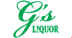 Product image for G's Liquor Gallery Save 10% on any craft beer purchase