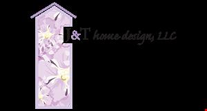 J & T Home Design logo
