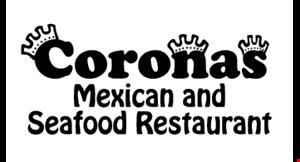 Coronas Mexican and Seafood Restaurant logo