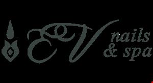 EV Nails & Spa logo