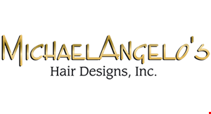MICHAEL ANGELO HAIR DESIGN logo