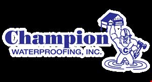 Champion Waterproofing, Inc. logo