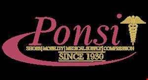 Ponsi Shoes logo