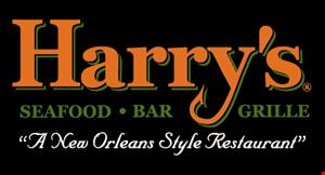 Harry's Seafood logo