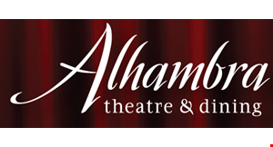 Alhambra Theatre & Dining logo