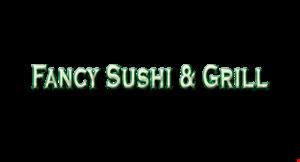 Fancy Sushi & Grill logo