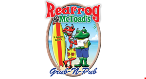 Red Frog Mctoad's logo
