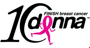 Donna Finish Breast Cancer logo