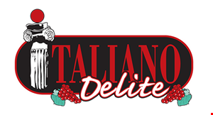 Product image for Italiano Delite Ristorante $20.99 1 large cheese pizza 1 small salad 12 buffalo wings 12 garlic knots Toppings extra