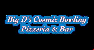 Big D's Cosmic Bowling logo
