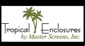 Tropical Enclosures By Master Screens logo