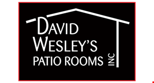 David Wesley's Patio Rooms logo