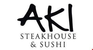Aki Japanese Steak House & Sushi logo