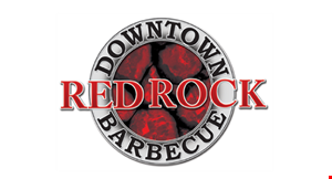 Red Rock Downtown Barbecue logo