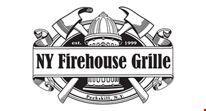 Product image for NY Firehouse Grille $2 off delivery order