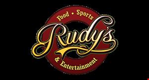 Rudy's Food Sports & Entertainment logo