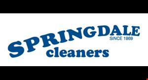 Springdale Cleaners- Monfort Heights logo