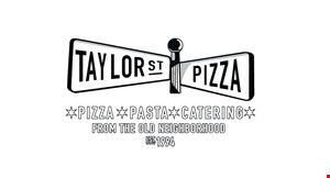 """Product image for Taylor Street Pizza $10.99 16"""" large thin crust cheese pizza"""