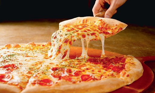 "Product image for Taylor Street Pizza $10.99 16"" large thin crust cheese pizza (toppings extra)."