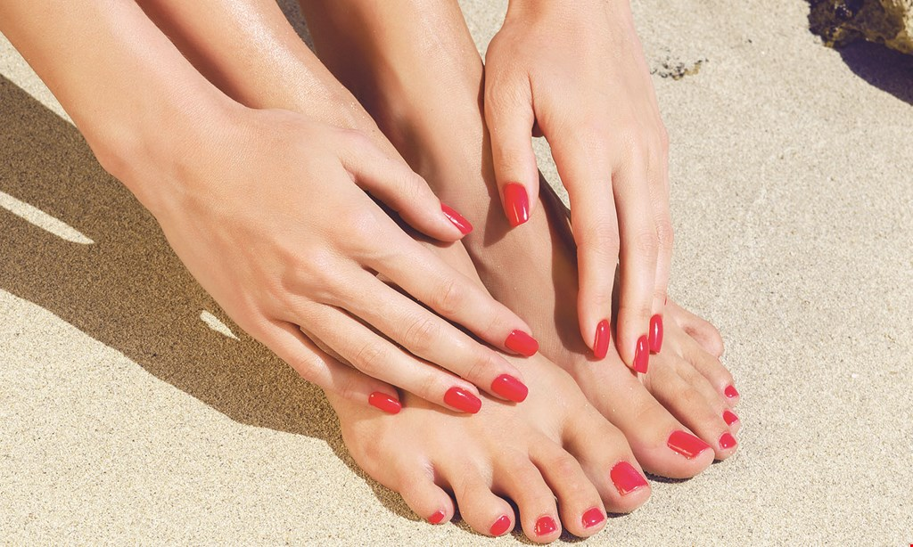 Product image for City Nails & Spa $25 pedicure