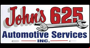John's 625 Automotive Service logo