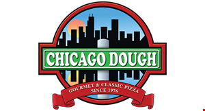 Product image for Chicago Dough $5 OFF any order of $30 or more dine in, carry-out or delivery.
