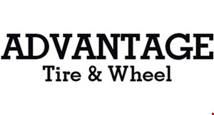 Product image for Advantage Tire & Wheel $15 off Any Service.