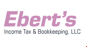 Ebert's Income Tax & Bookkeeping, LLC logo