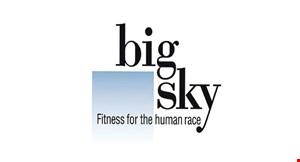 Big Sky Fitness logo