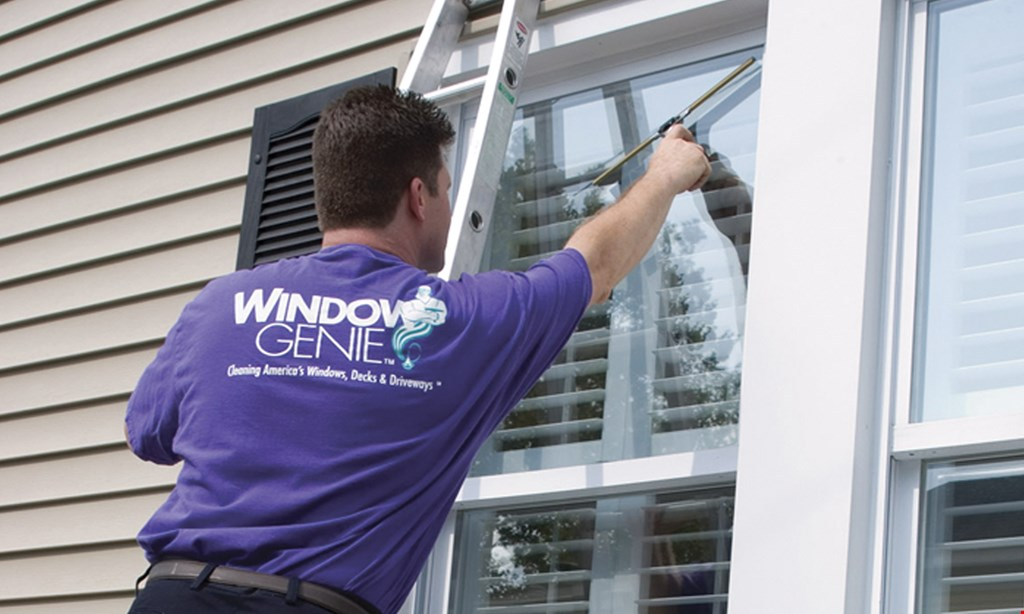 Product image for Window Genie - North Georgia WINDOW CLEANING up to 15 windows STARTING AT $99