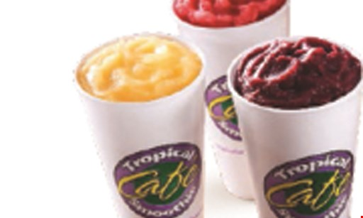 Product image for Tropical Smoothie Cafe Free smoothie