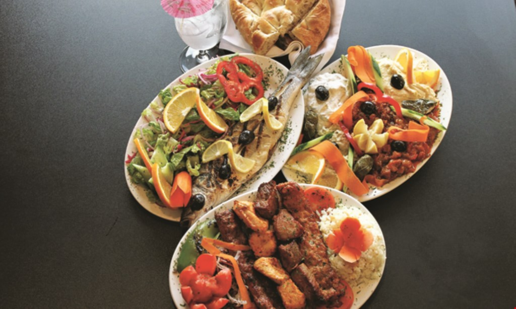 Product image for Europe Cafe and Grill $10 OFF* with a purchase OF $50 or more.