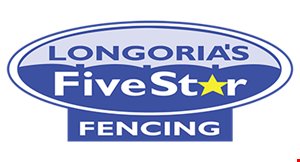 Longoria's Five Star Fencing logo