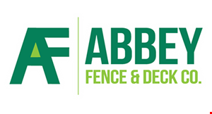 Product image for Abbey Fence & Deck Co. $200 off any installed deck project including: wood, composite or vinyl (some minimums apply)