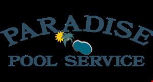 Paradise Pool Service logo