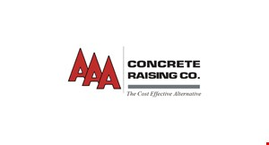 AAA Concrete Raising Co logo