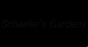 Schaefer's Gardens logo