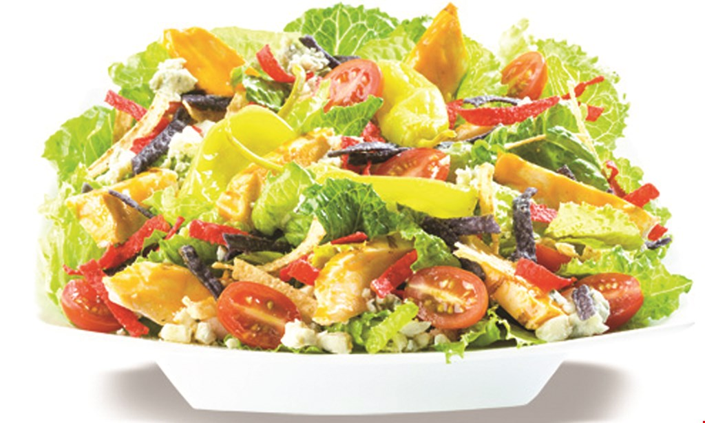 Product image for FRESHLEAF SALADS OF Dover Free fountain drink with the purchase of an entree.