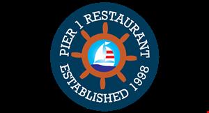 Pier 1 Restaurant logo