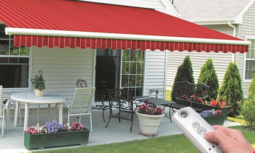 Product image for Caparro Awning Company Save up to $400 on motorized retractable awnings.