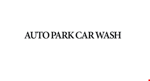 Product image for Auto Park Car Wash $14.95 full service car wash