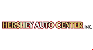 Product image for Hershey Auto Center $19.95 + tax oil change & filter + eco fee & tax