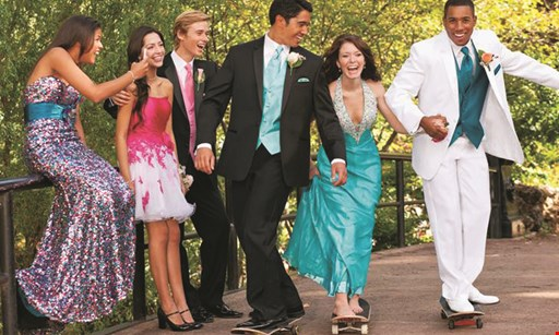Product image for Tuxedo Gallery Save $40 on any prom tuxedo rental.