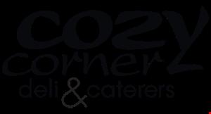 Cozy Corner Deli & Caterers logo