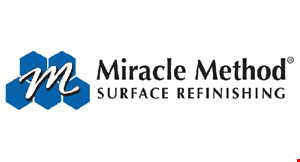 Product image for Miracle Method $45 off! a complete bathtub or tile refinishing job