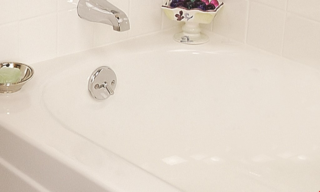 Product image for Miracle Method $45 off a complete bathtub or tile refinishing job.
