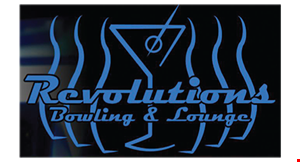 Revolutions Bowling & Lounge logo